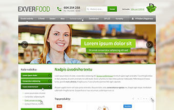 E-shop Exver-food.cz